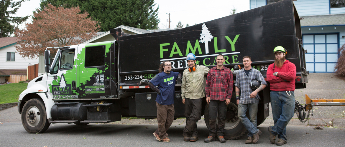 Tacoma Arborists from Family Tree Care