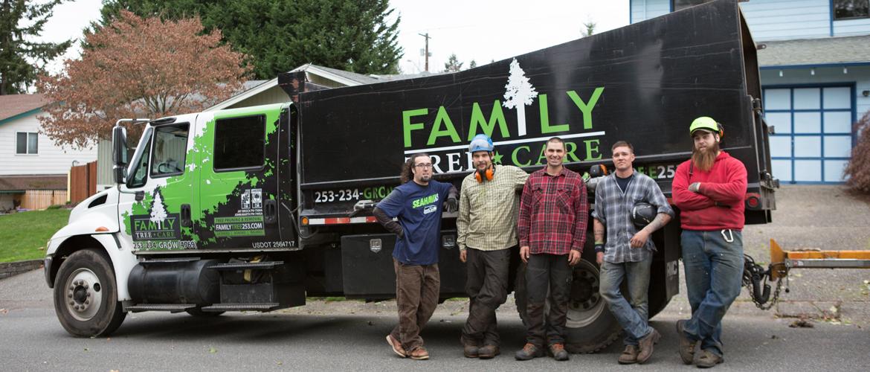Tacoma Arborists from Family Tree Care