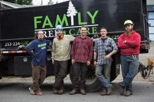 Family Tree Care services team